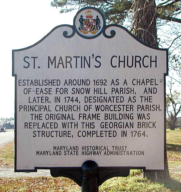 Historic St. Martin's Foundation